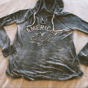 American Eagle Hooded Top